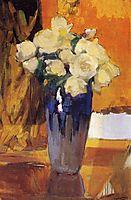 White Roses from the House Garden, 1919, sorolla