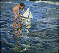 The Young Yachtsman, 1909, sorolla