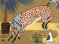 Clown, Horse, Salamandra , 1912, souzacardoso
