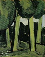 Green Landscape , 1915, souzacardoso