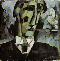 Grief. Head. Boquilha , 1914, souzacardoso