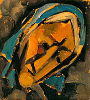 Head , 1915, souzacardoso