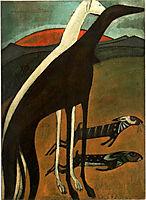 Os galgos, 1911, souzacardoso