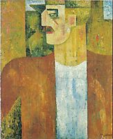Portrait of Man , 1913, souzacardoso
