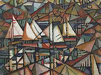 Untitled (boats), 1913, souzacardoso