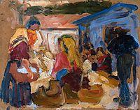 Village Market in Cardoso , 1905, souzacardoso