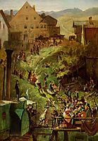 Arrival in Seeshaupt, c.1880, spitzweg