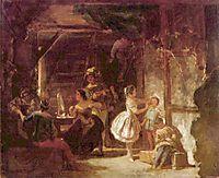 Backstage, 1860, spitzweg