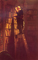The Book Worm, spitzweg