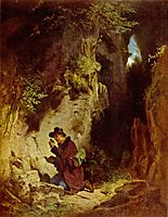 The geologist, c.1860, spitzweg