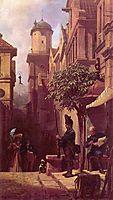 He comes, c.1870, spitzweg