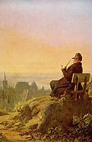 Resting on the Vine, c.1845, spitzweg