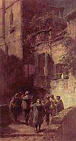The serenade, 1855, spitzweg
