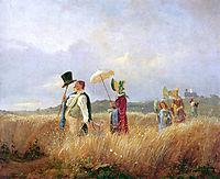 Sunday Stroll , 1841, spitzweg
