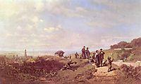 The Sunday walk, c.1865, spitzweg