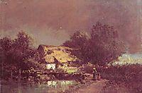 Thunderstorm, c.1870, spitzweg