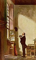 The Writer , c.1880, spitzweg