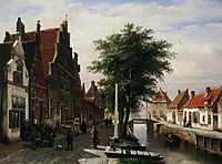 Along the Canal, 1862, springer