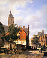 Church in Zaltbommel , springer