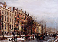The Herengracht aan de Amstel, springer