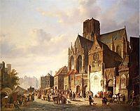View of Montelspran, 1845, springer