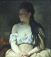 Portrait of a Girl, 1873, stahi