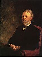 Albert G. Porter, Governor of Indiana, 1885, steele