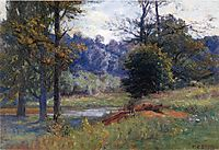 Along the Creek, 1905, steele