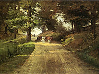 An Indiana Road, 1889, steele
