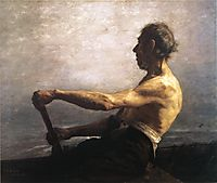 The Boatman, 1884, steele