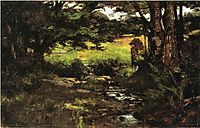 Brook in Woods, 1887, steele