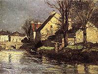 Canal, Schlessheim, 1884, steele