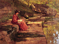 Daisy by the River, 1891, steele