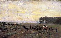 Haying Scene, 1884, steele