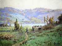 In the Whitewater Valley near Metamora, 1894, steele