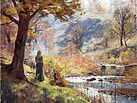 Morning by the Stream, 1893, steele