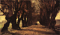 Road to Schleissheim, 1882, steele
