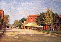 Street Scene, 1896, steele