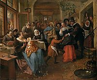 Cheated groom, 1670, steen
