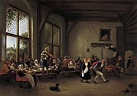 Country Wedding, 1666, steen