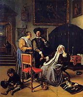 Doctor s Visit, 1662, steen