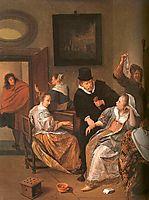 Doctor-s Visit, 1665, steen