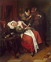 Doctor-s Visit, c.1660, steen