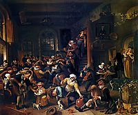 Egg Dance, 1674, steen