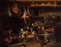 Fat Kitchen, c.1650, steen