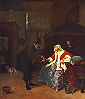 Love Sickness, 1660, steen