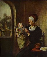 Mother and Child, steen