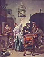 Parrot cage, steen