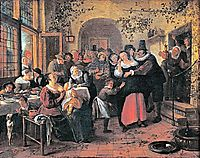 Peasant Wedding, steen