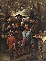 Quackdoctor, 1651, steen